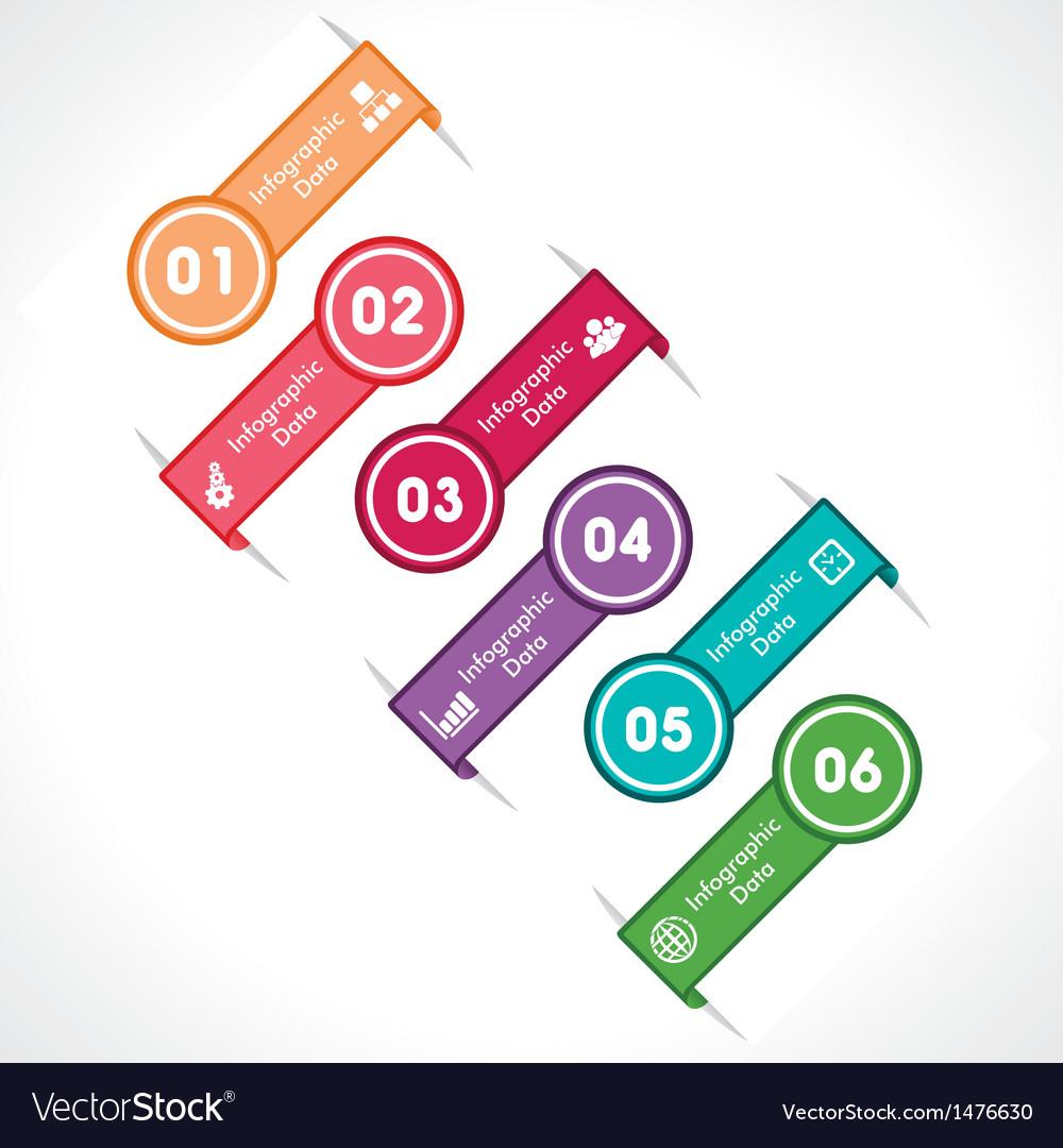 Creative arrow info-graphic vector   Price: 1 Credit (USD $1)