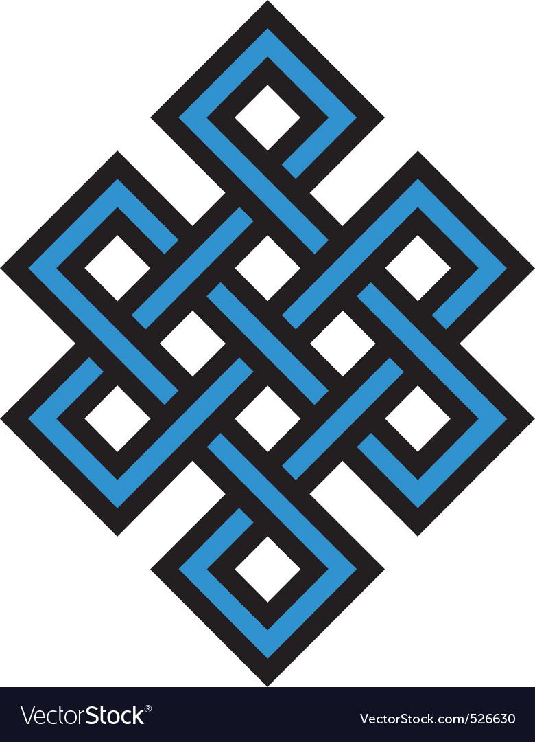 Eternal knot vector