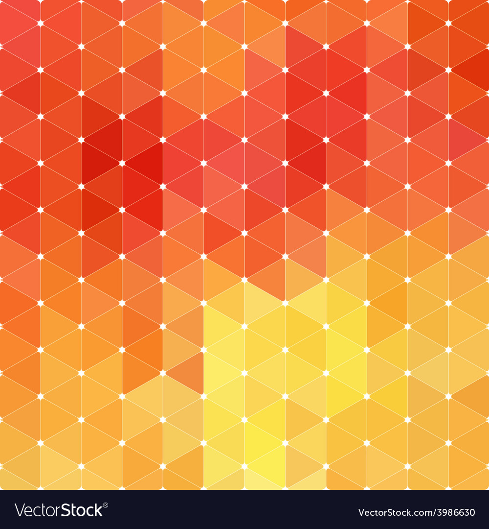 Triangle mosaic background vector | Price: 1 Credit (USD $1)