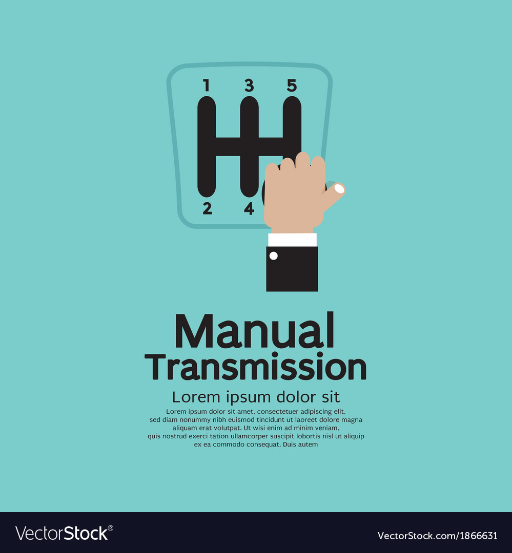 Manual transmission vector | Price: 1 Credit (USD $1)