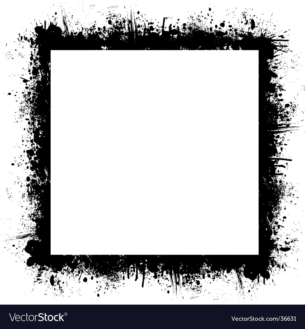 Splat background square vector | Price: 1 Credit (USD $1)