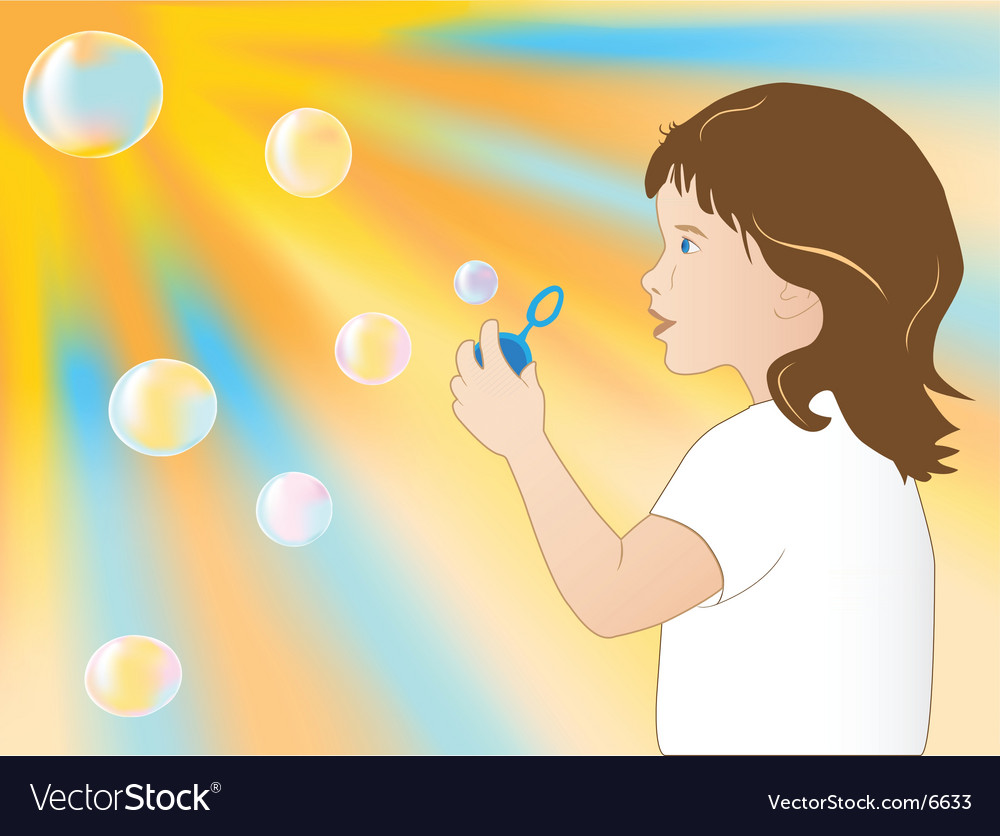 Bubbles vector | Price: 3 Credit (USD $3)