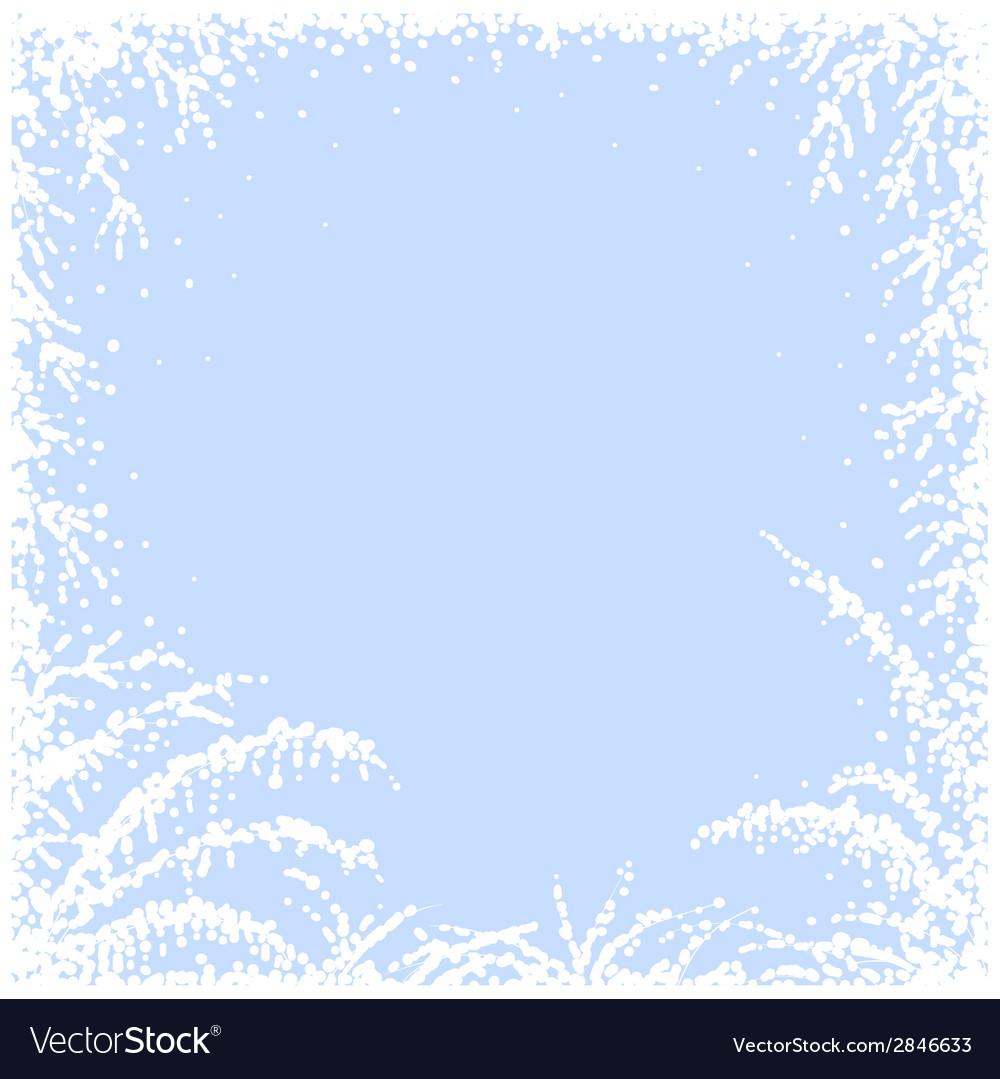 Frozen window vector | Price: 1 Credit (USD $1)