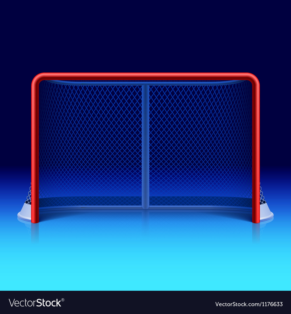 Ice hockey net vector | Price: 3 Credit (USD $3)