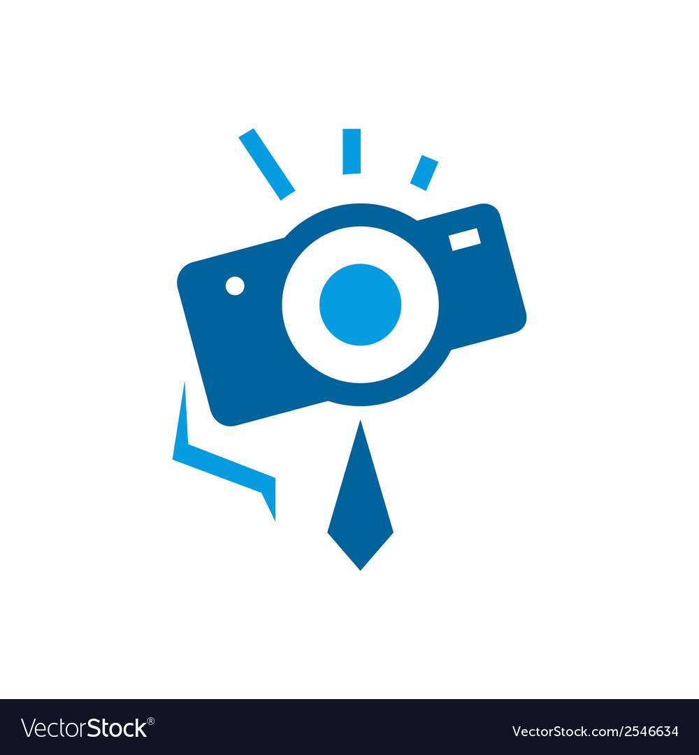 Photographer abstract sign vector | Price: 1 Credit (USD $1)