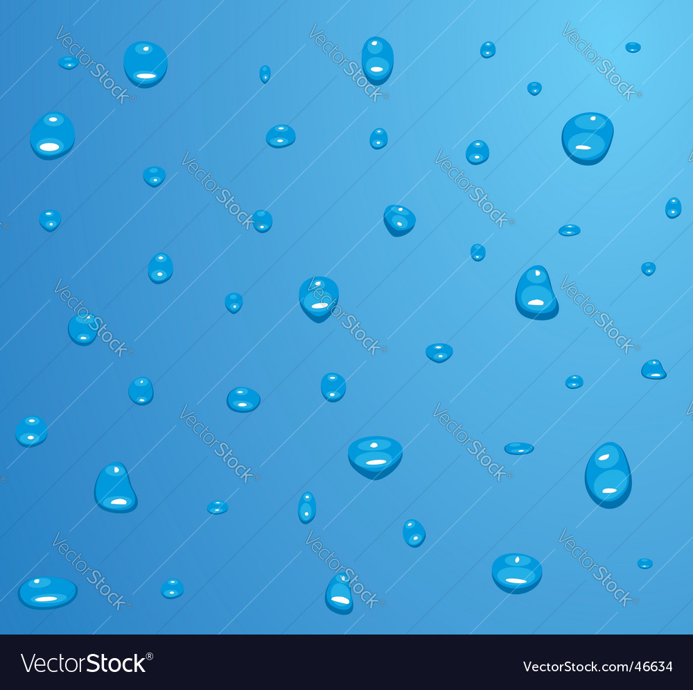 Water drops texture vector | Price: 1 Credit (USD $1)