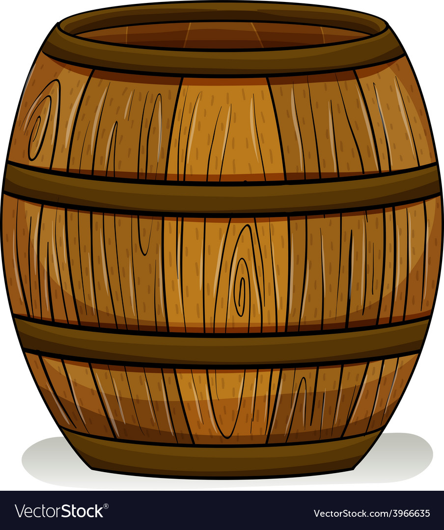 A barrel vector | Price: 1 Credit (USD $1)