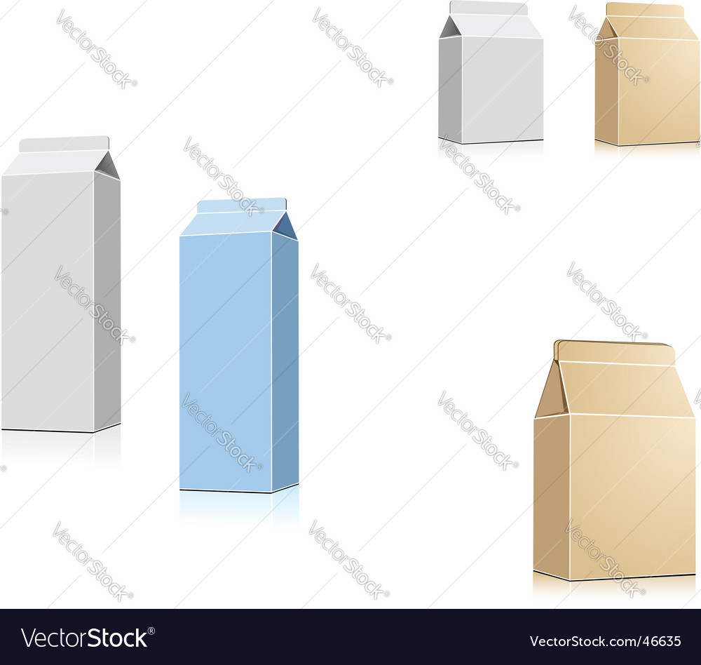 Drink containers vector | Price: 1 Credit (USD $1)