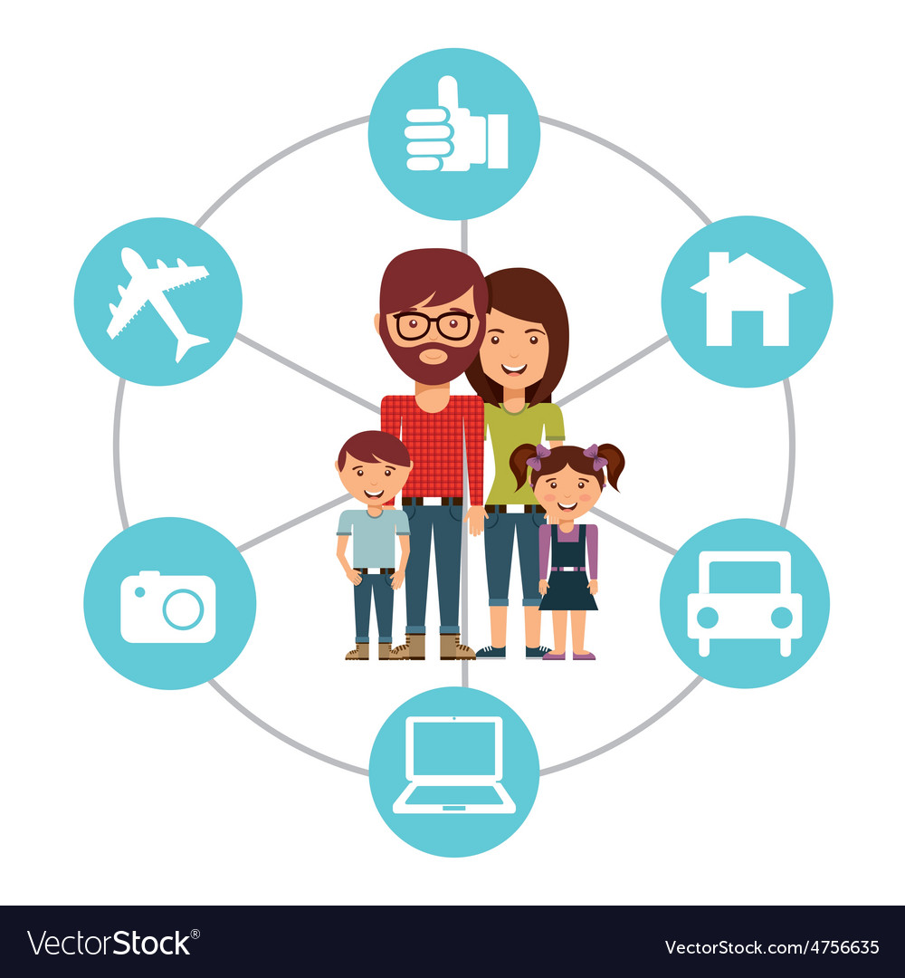 Family concept vector   Price: 1 Credit (USD $1)