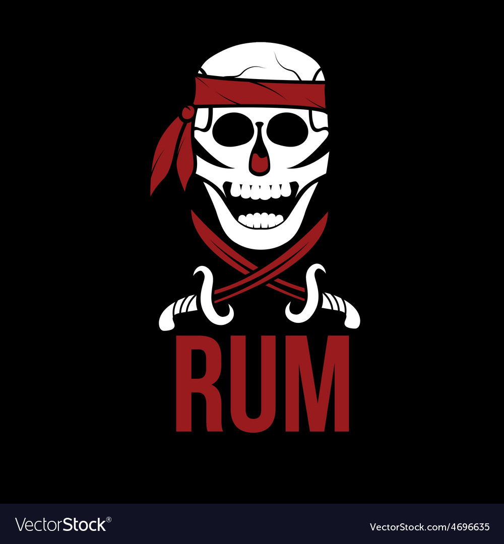 Jolly roger rum vector | Price: 1 Credit (USD $1)