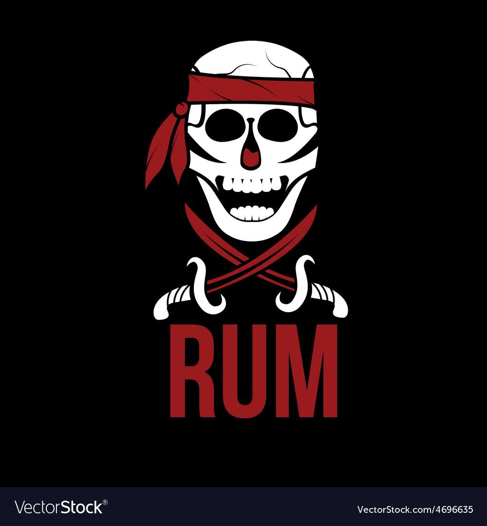 Jolly roger rum vector | Price: 1 Credit (USD $1)
