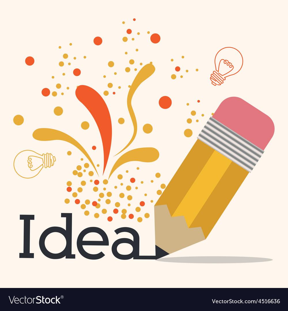 Big idea design vector | Price: 1 Credit (USD $1)