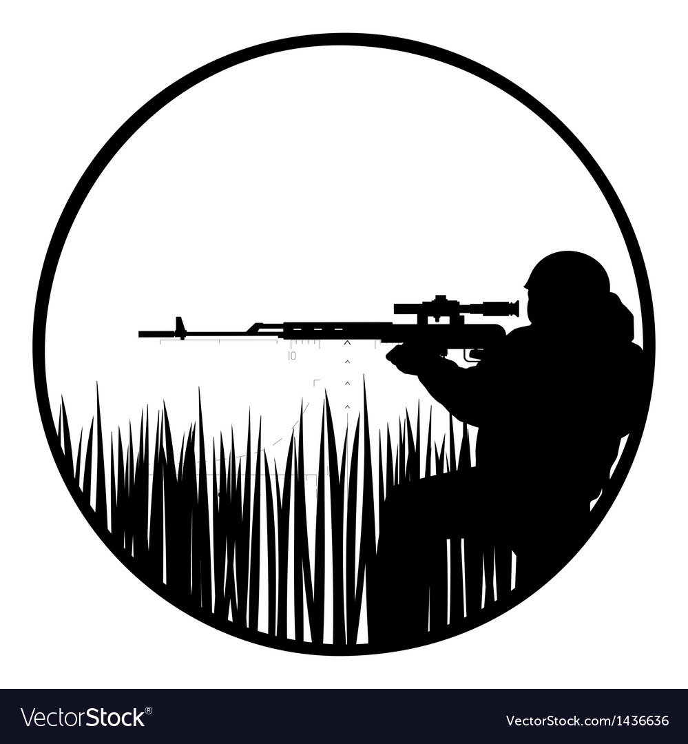 Sniper vector | Price: 1 Credit (USD $1)