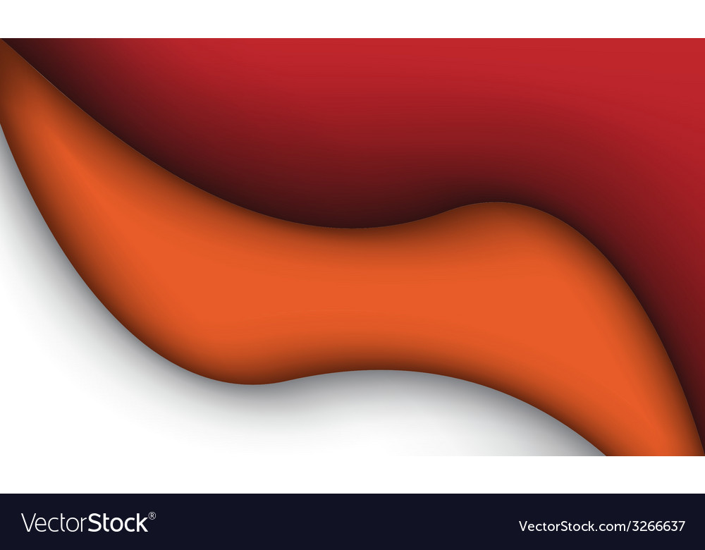 Abstract red and orange liquid vector | Price: 1 Credit (USD $1)