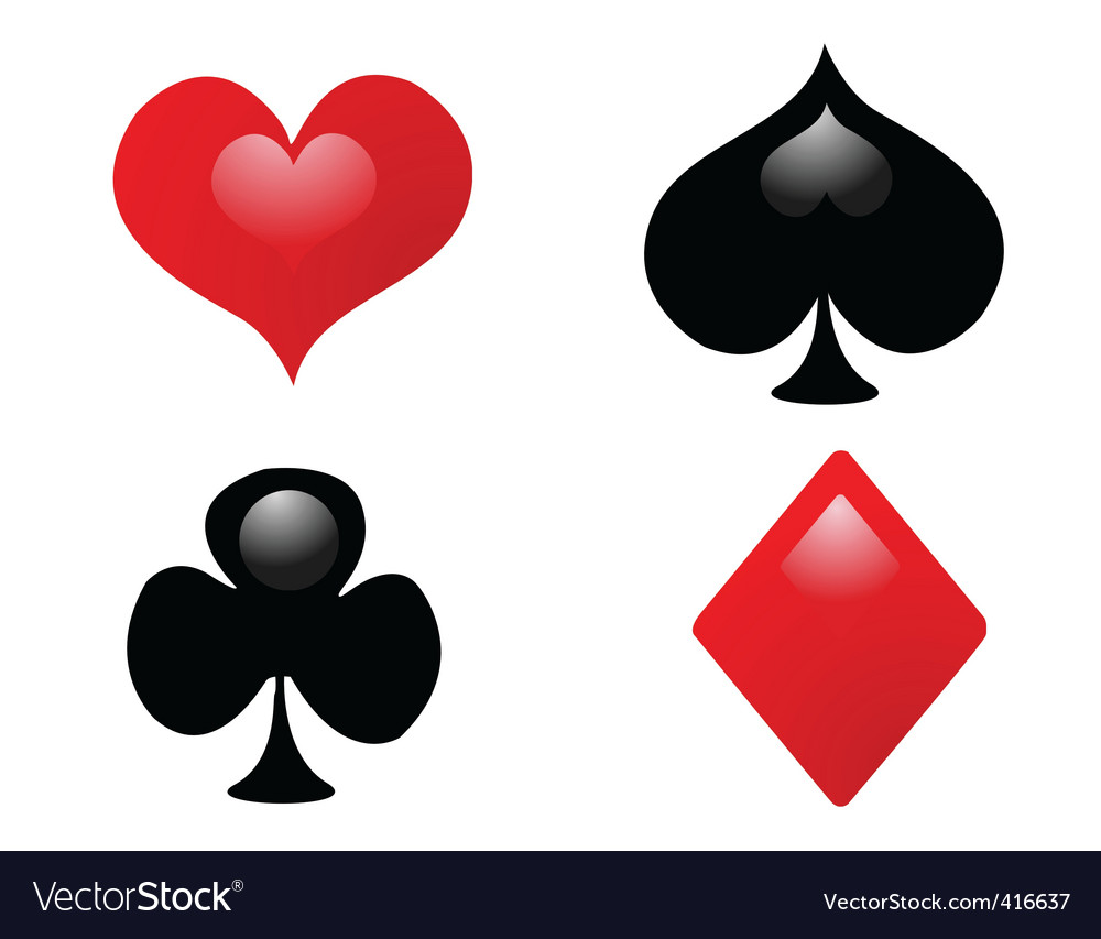Playing card suit vector | Price: 1 Credit (USD $1)