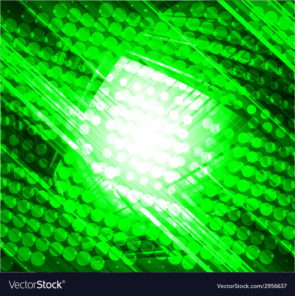 Virtual technology green background vector | Price: 1 Credit (USD $1)