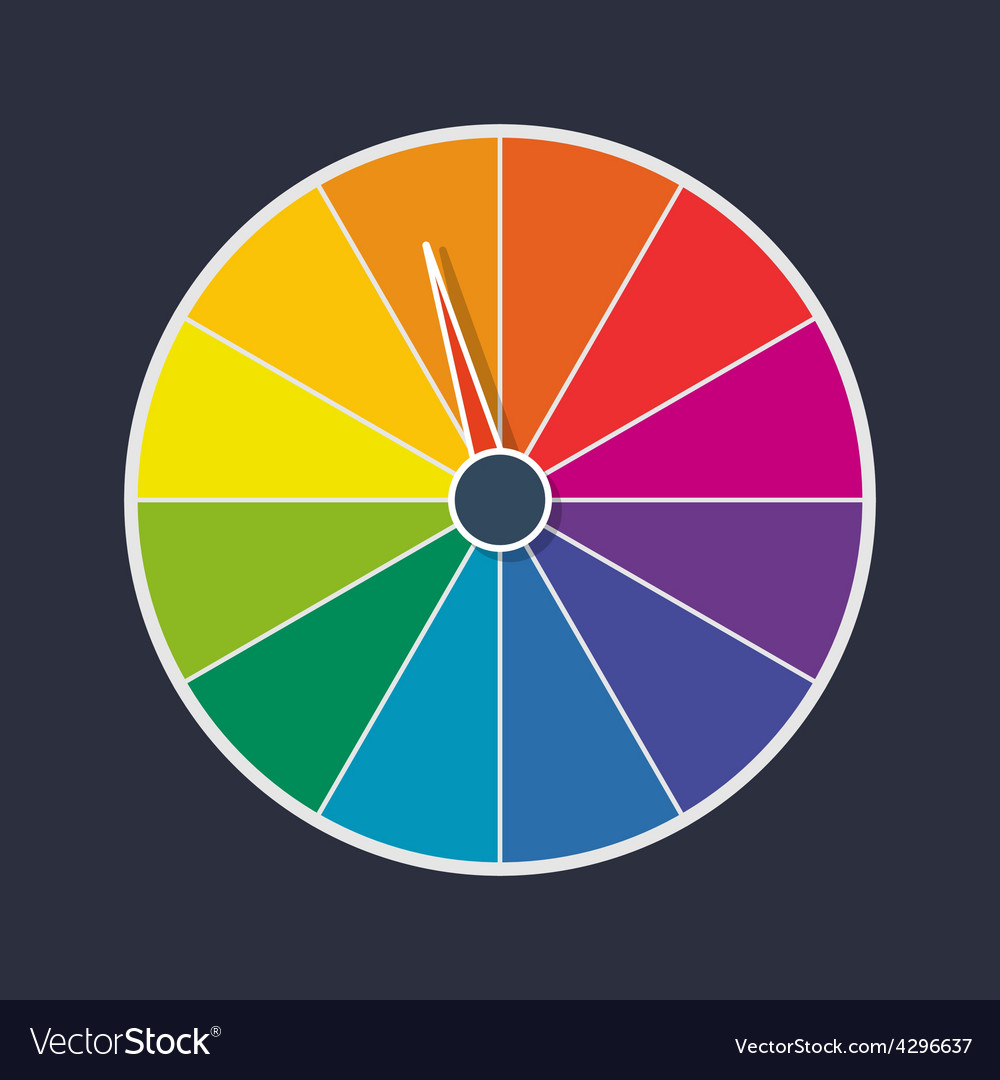 Wheel of fortune vector | Price: 1 Credit (USD $1)