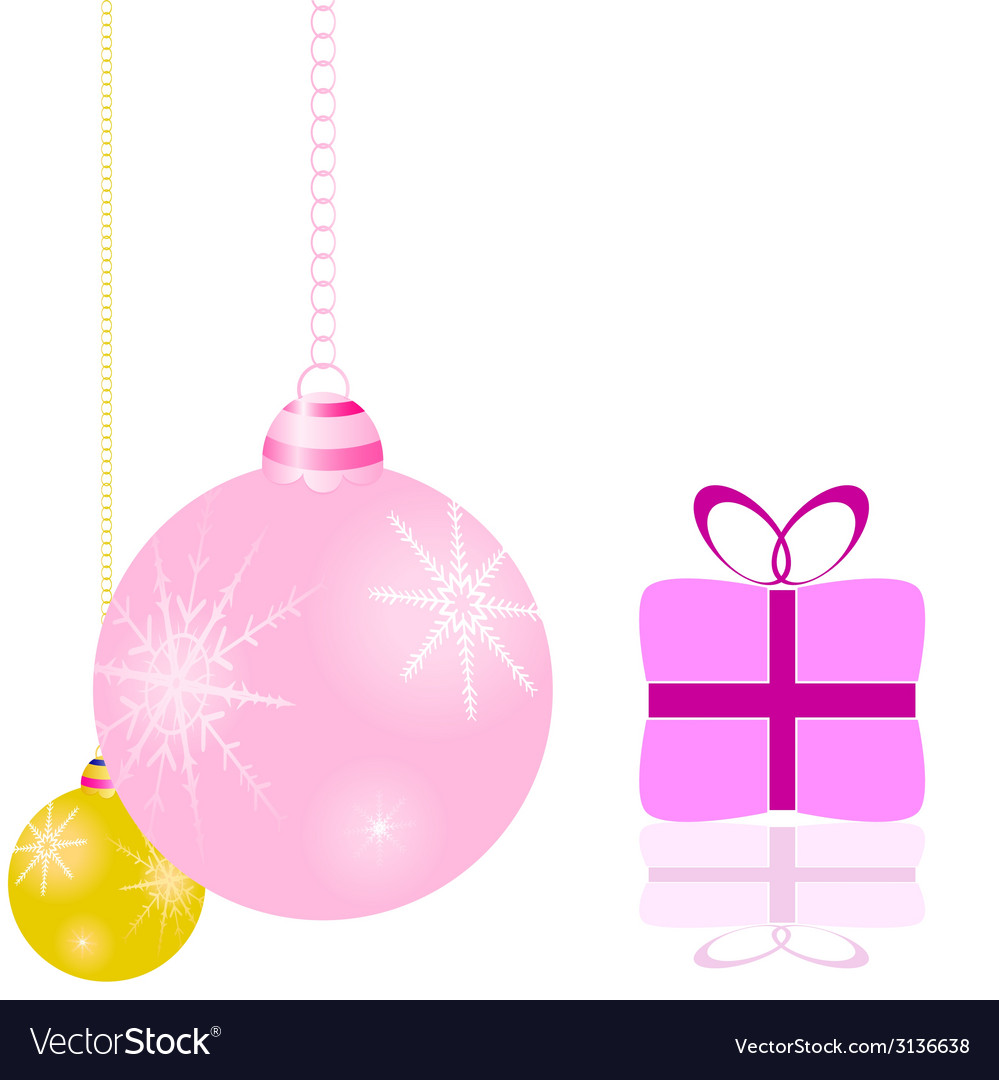 Decorations for the christmas tree and packages vector | Price: 1 Credit (USD $1)
