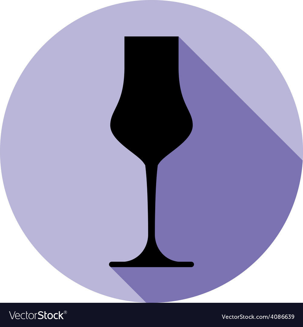 Alcohol theme icon champagne goblet placed in a vector | Price: 1 Credit (USD $1)