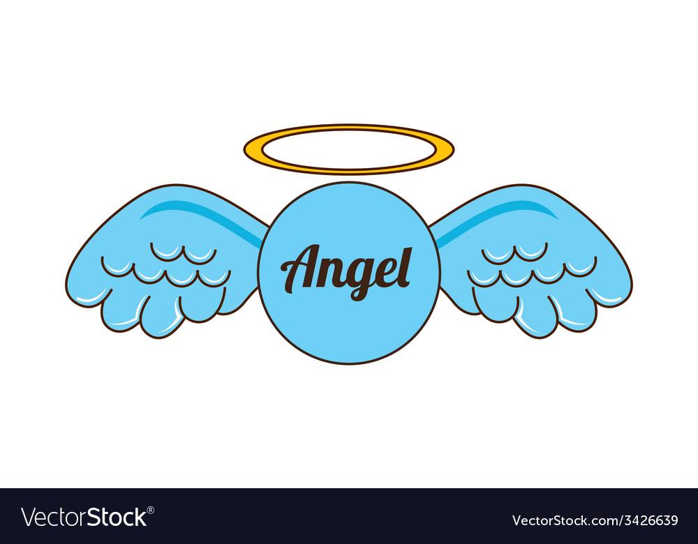 Angel design vector | Price: 1 Credit (USD $1)