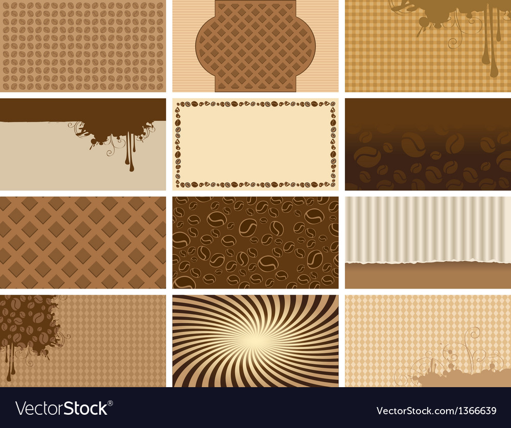 Coffee backgrounds vector | Price: 3 Credit (USD $3)