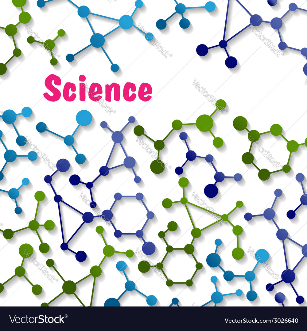 Colorful science background pattern vector | Price: 1 Credit (USD $1)
