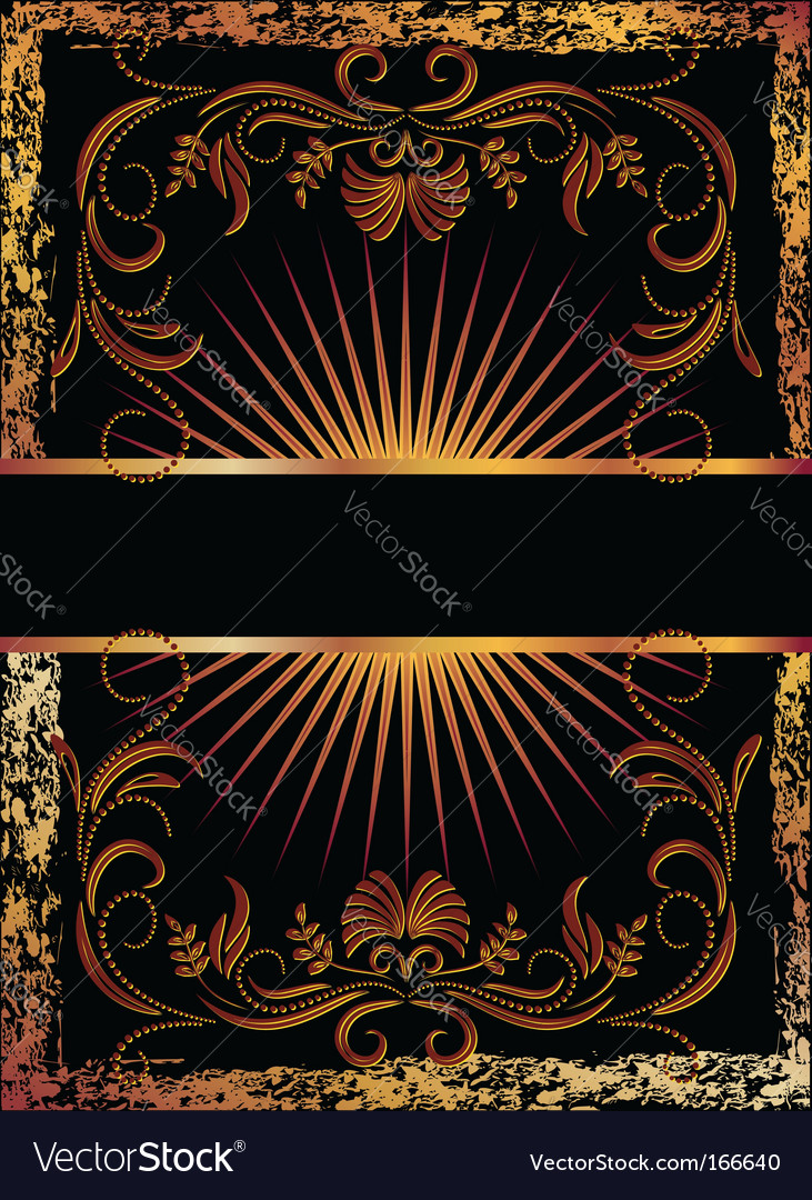 Copper ornament vector | Price: 1 Credit (USD $1)
