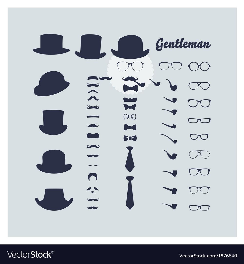 Gentleman vector | Price: 1 Credit (USD $1)