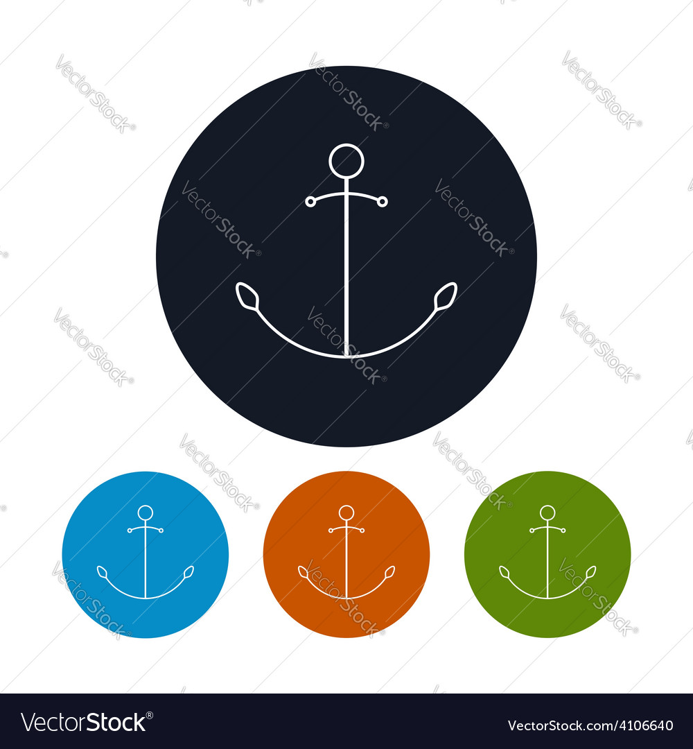 Icon anchor vector   Price: 1 Credit (USD $1)