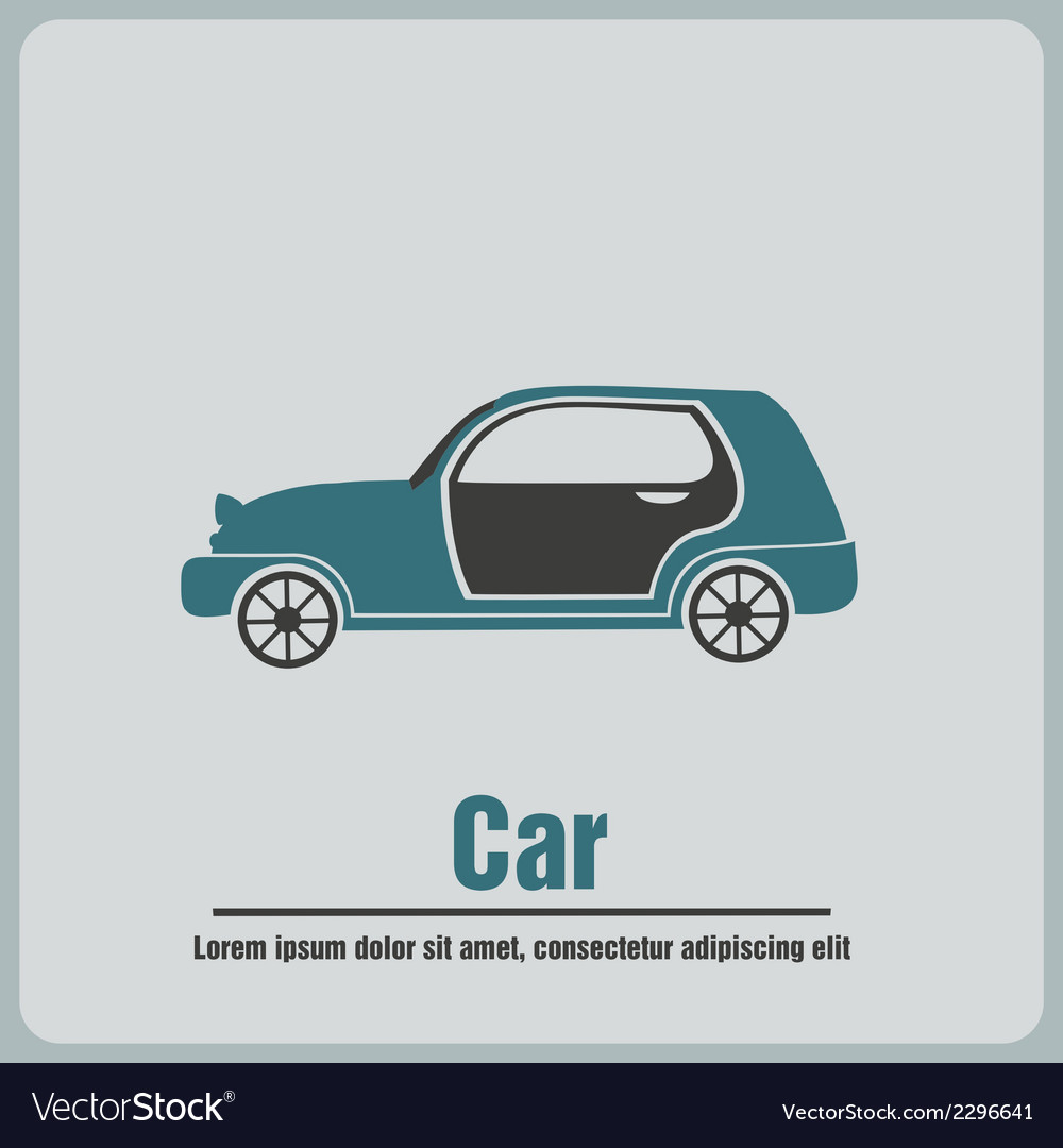 Car icons vector | Price: 1 Credit (USD $1)