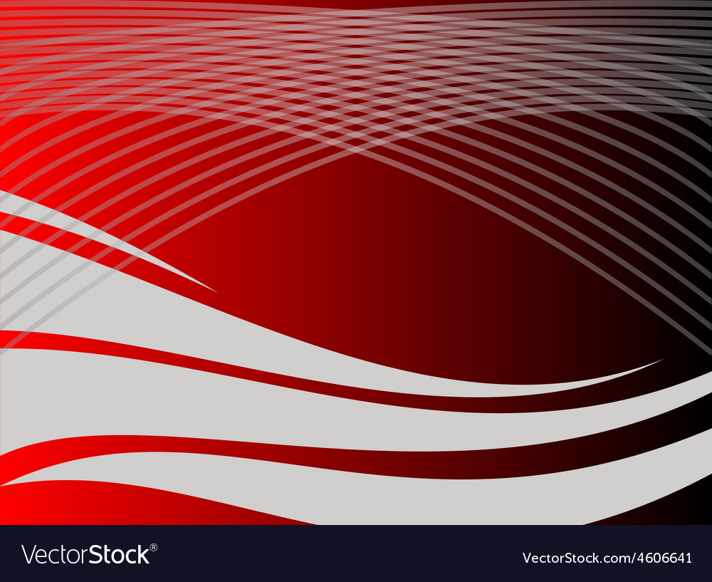 Line twist light lines red background vector | Price: 1 Credit (USD $1)