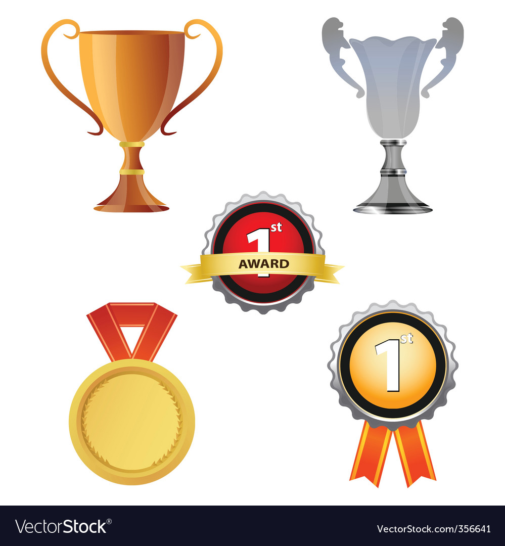 Reward icons vector | Price: 1 Credit (USD $1)