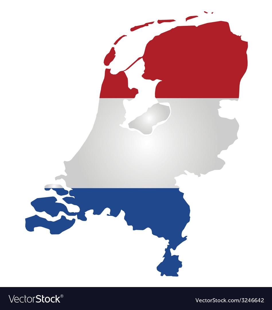 Netherlands flag vector   Price: 1 Credit (USD $1)