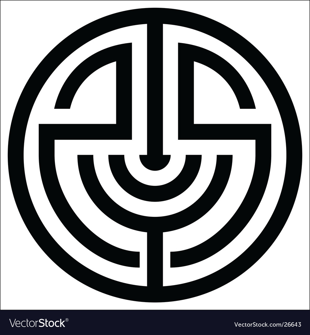 Abstract circle vector | Price: 1 Credit (USD $1)
