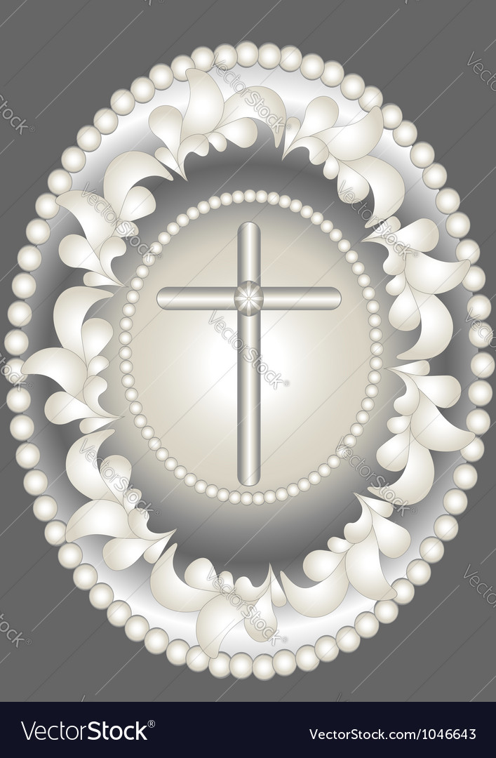 Abstract medallion christ vector | Price: 1 Credit (USD $1)