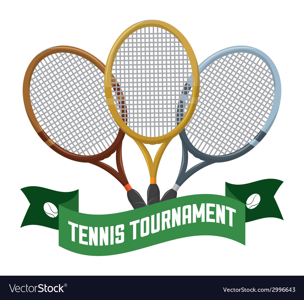 Tennis tournament vector | Price: 1 Credit (USD $1)