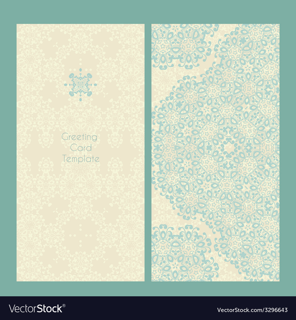 Victorian lace card vector | Price: 1 Credit (USD $1)