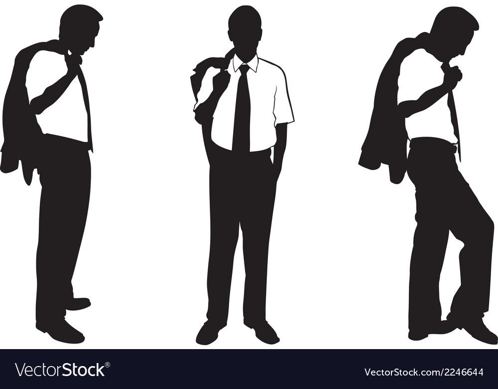Business men vector