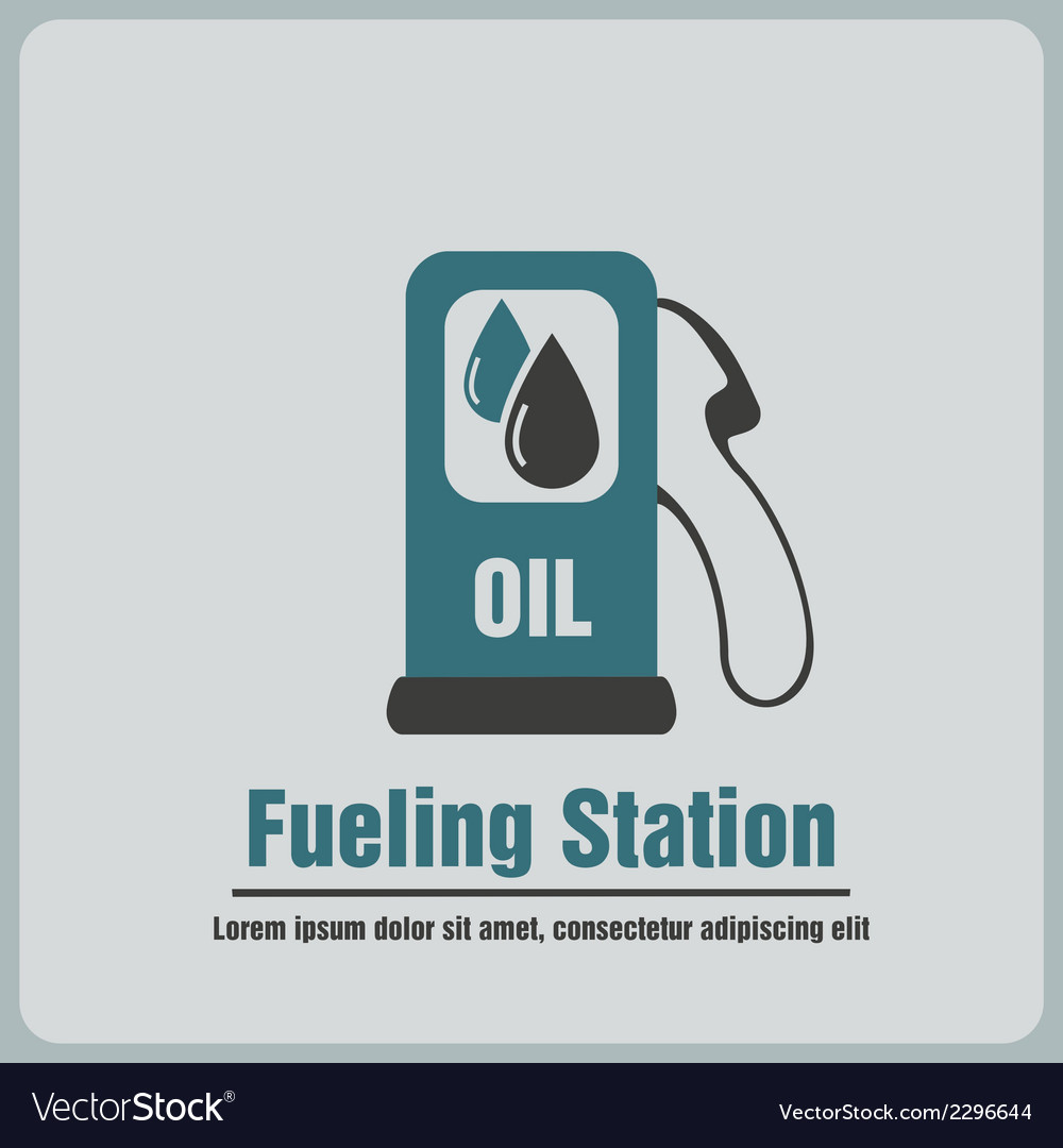 Icon fueling vector | Price: 1 Credit (USD $1)