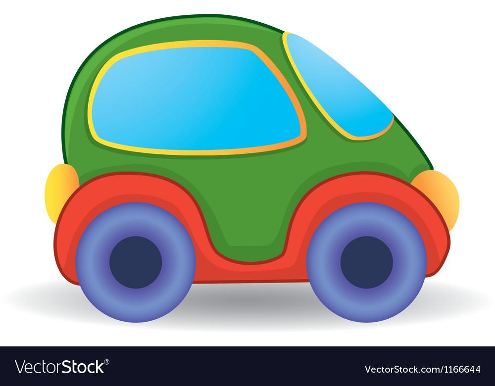 Toy car vector | Price: 1 Credit (USD $1)