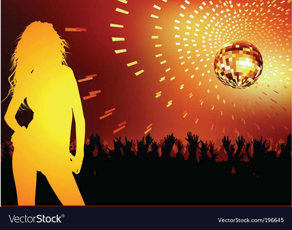 Disco dance party vector | Price: 1 Credit (USD $1)