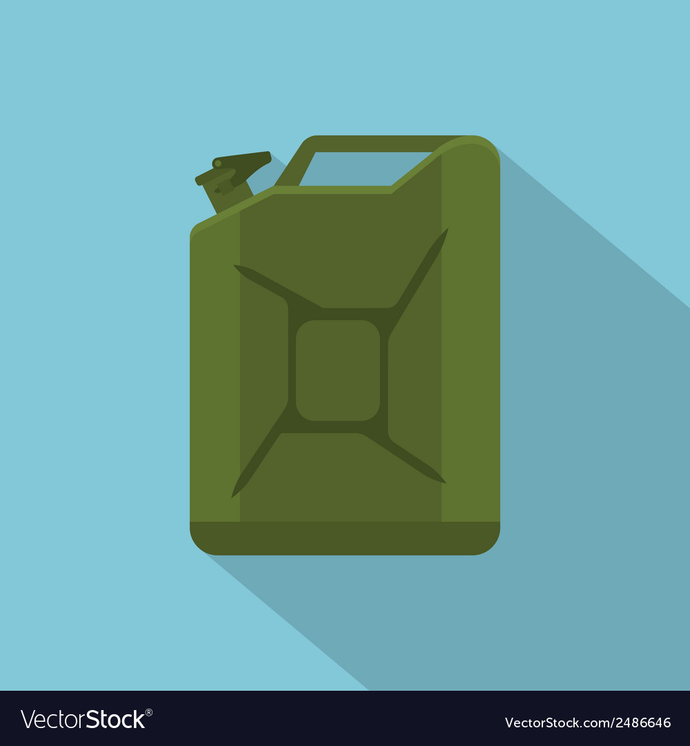 Flat tank vector | Price: 1 Credit (USD $1)