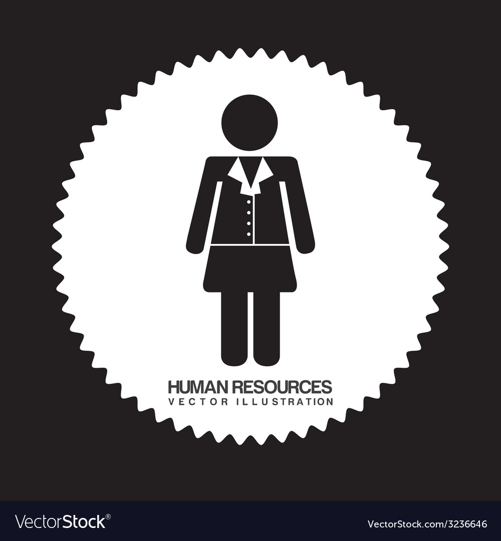 Human resources design vector | Price: 1 Credit (USD $1)