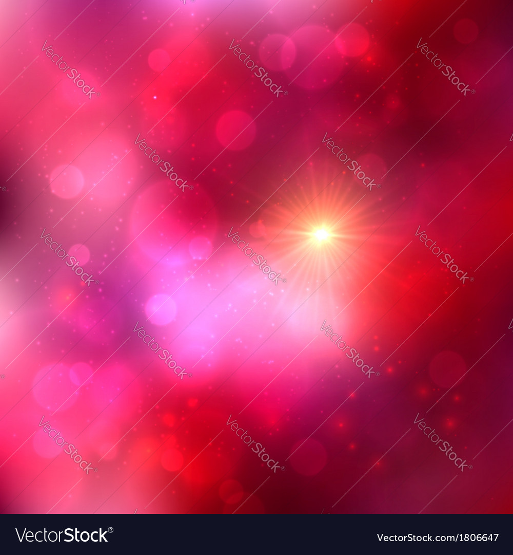 Bright pink abstract shining background vector | Price: 1 Credit (USD $1)