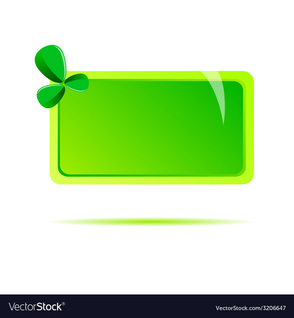 Green table with leave vector | Price: 1 Credit (USD $1)