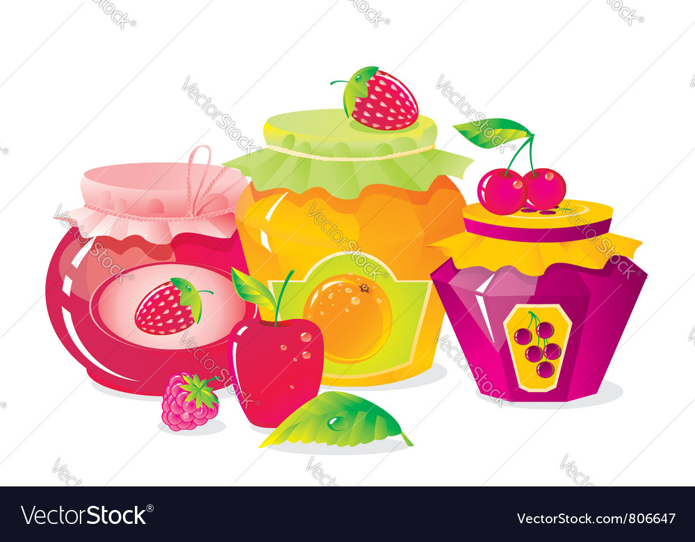 Plenty of fruit and berry vector | Price: 3 Credit (USD $3)