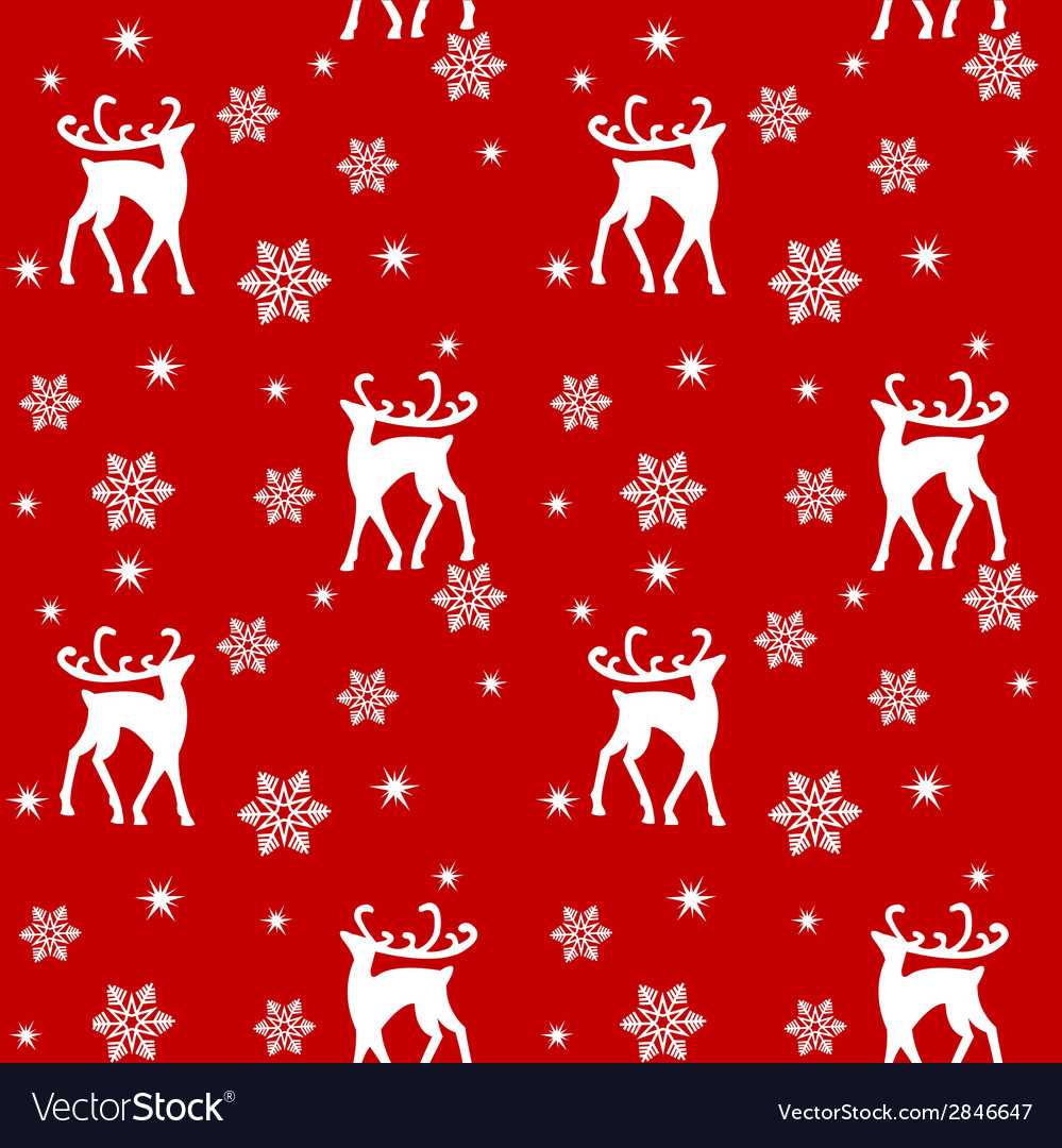 Reindeers in forest vector | Price: 1 Credit (USD $1)