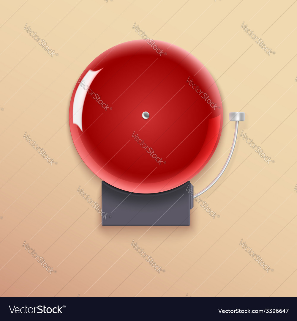 School bell vector | Price: 1 Credit (USD $1)