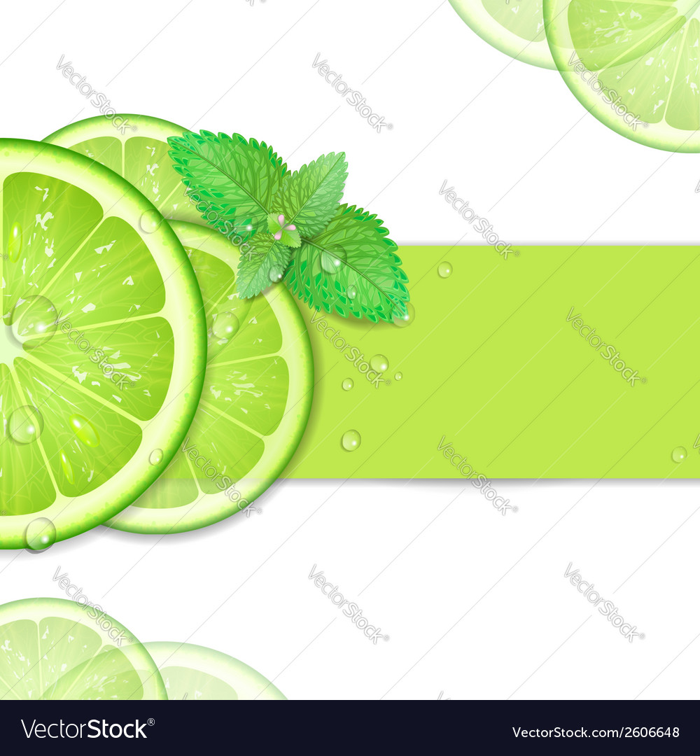 Background of lime vector | Price: 1 Credit (USD $1)