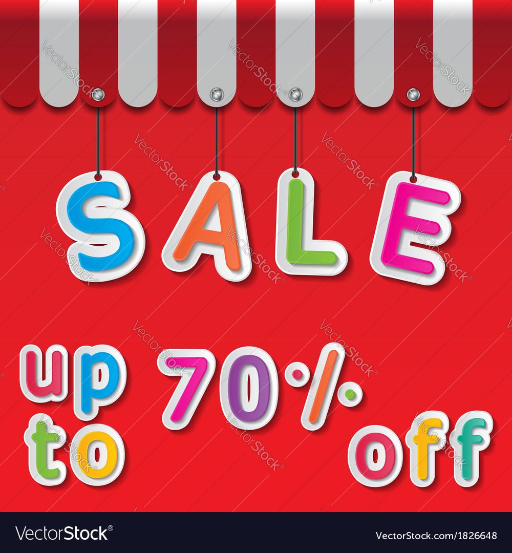 Big sale tag vector   Price: 1 Credit (USD $1)